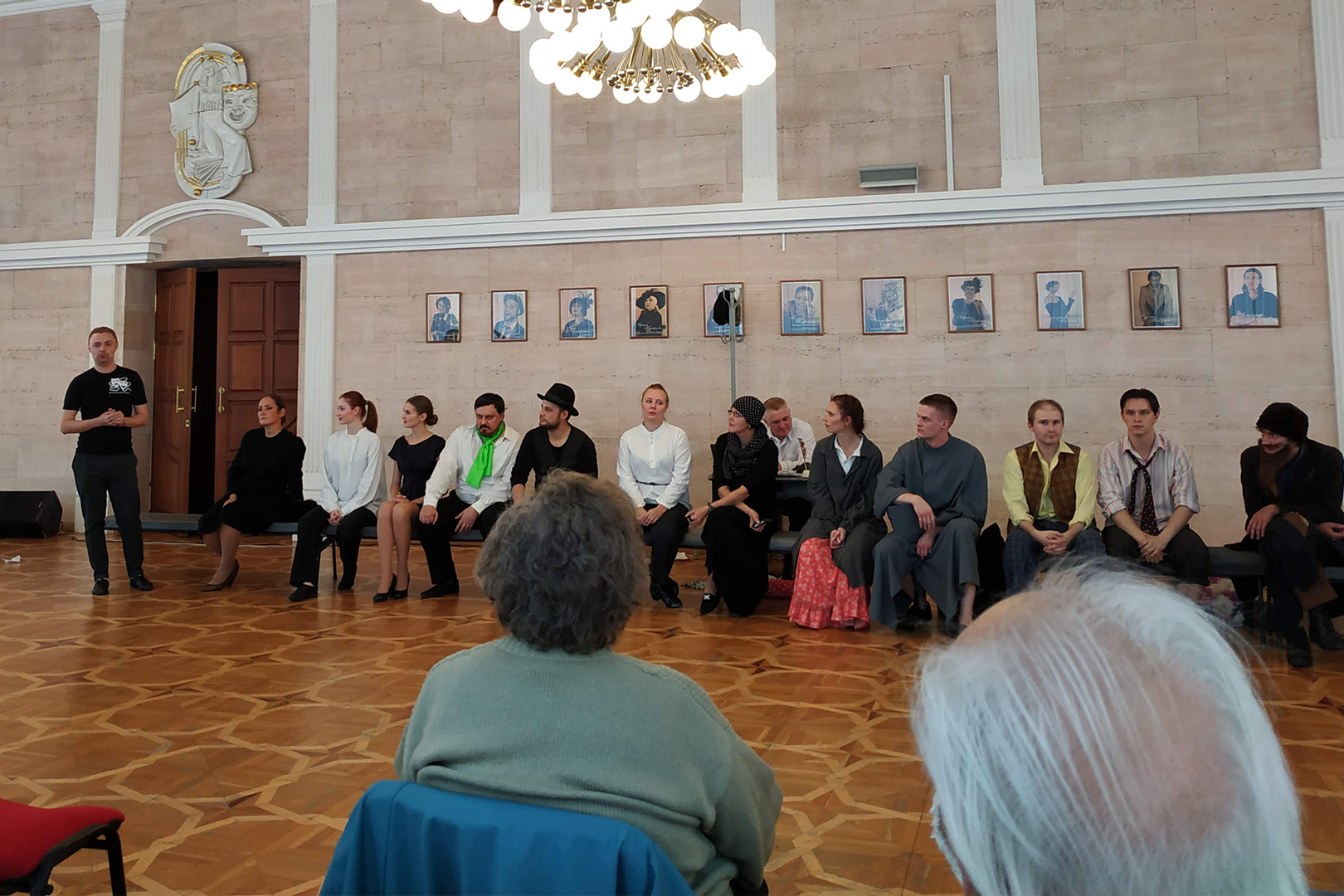 «Культурная среда». Первая программа нового сезона посвящена творчеству А. П. Чехова.