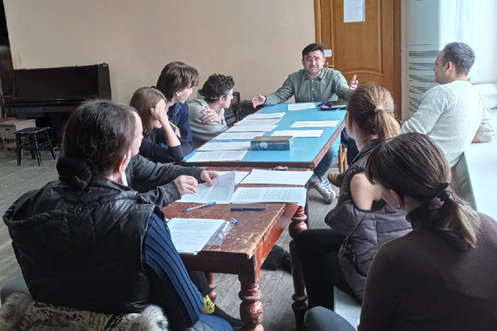 Началась подготовка спектакля «Иллюзии» по пьесе Ивана Вырыпаева